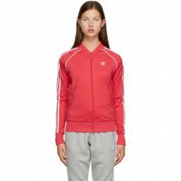 Adidas Originals Pink Primeblue SST Track Jacket GD2375