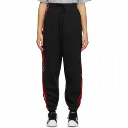 Adidas Originals Black Adicolor 3D Trefoil Track Pants GD2242