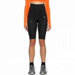 Adidas by Stella McCartney Black Pure Performance Cycling Shorts FU0299