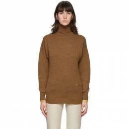 Victoria Beckham Brown Cashemere Sweater 1320KJU001581A