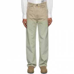 Jacquemus Brown Le Jean Trousers 206DE04-206 139820