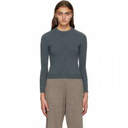 Extreme Cashmere Grey Cashmere Kid Sweater 98