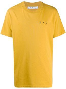 Off-White футболка с логотипом Arrows OMAA027F20FAB0081610