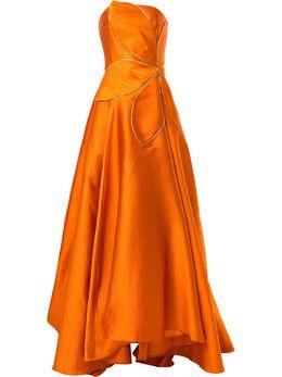 Bambah платье без бретелей с цветочным принтом SS20BMSS20022