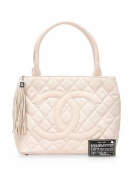 Chanel Pre-Owned Canvas Medallion Tote Bag 0GCHTO003