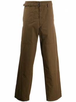 Lemaire belted cotton trousers PA160LF509