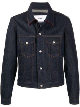 Ami джинсовая куртка на кнопках H20HD426600