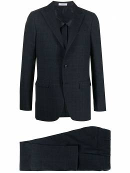Boglioli клетчатый костюм с однобортным пиджаком J62C2BBSC130