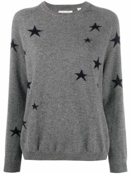 Chinti And Parker star print cashmere jumper KF113