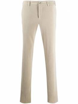 Pt01 вельветовые брюки прямого кроя COVSJGZ00TVL