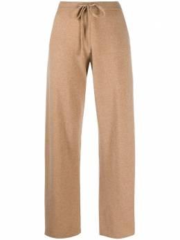 Chinti And Parker кашемировые брюки с вышитым логотипом KJ222