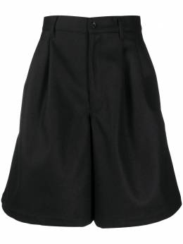 Comme Des Garcons Shirt high-waisted Bermuda shorts W28148