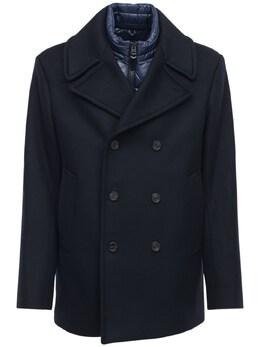 Полушерстяное Пальто Mackage 72IGEH005-TkFWWQ2