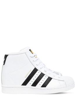 Superstar Up W Sneakers W/ Internal Heel Adidas Originals 72I0HD119-RlRXUiBXSElURQ2