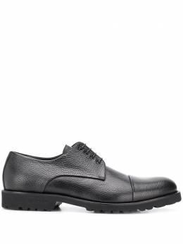 Baldinini туфли из зернистой кожи на шнуровке 147054PENGL000000XXX