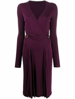 Gucci Pre-Owned wrap knee-length dress CVB2031