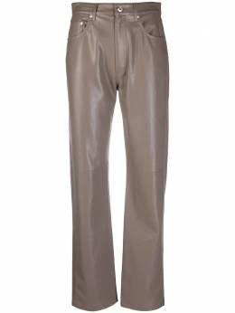 Nanushka брюки Vinni прямого кроя NW20FWPA05794