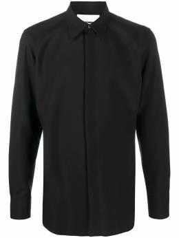 Jil Sander button-up wool shirt JSMR740526MR203400