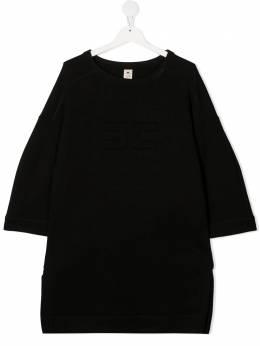 Elisabetta Franchi La Mia Bambina TEEN longline sweatshirt EFAB289