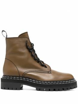 Proenza Schouler ботинки на шнуровке PS35113A12110