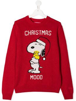 Mc2 Saint Barth Kids джемпер Snoopy вязки интарсия PRINCESS
