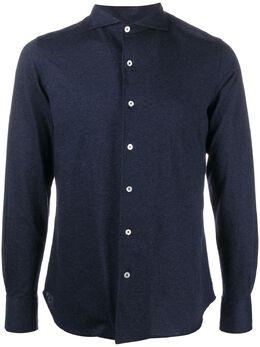 Canali рубашка с французским воротником и длинными рукавами GN02092LX56