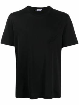 Brioni embroidered-logo cottonT-shirt UJCH0LO9626