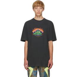 Han Kjobenhavn Black Boxy T-Shirt M-130164