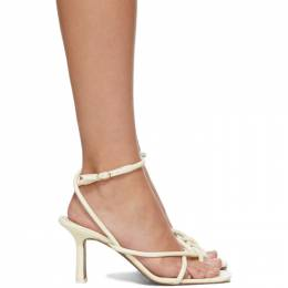 Neous Off-White Alkes 80 Heeled Sandals 00206N10