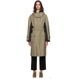 Low Classic Khaki Colorblock Hood Coat LOW20FW_CT14KH