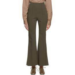 Low Classic Khaki Bootcut Trousers LOW20FW_TR03KH