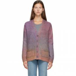 Re/Done Multicolor Oversized 90s Cardigan 535-10W9CAR