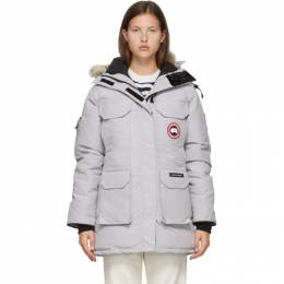 Canada Goose Grey Down Expedition Parka 4660L