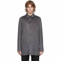 Herno Grey Cashmere Topper Jacket CA0068U 38020