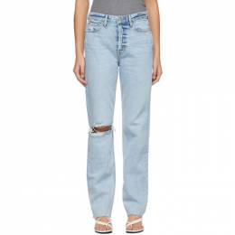 Grlfrnd Blue Washed Mica Jeans GF44429701493