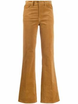 Zadig & Voltaire расклешенные брюки с завышенной талией WJCE0112F
