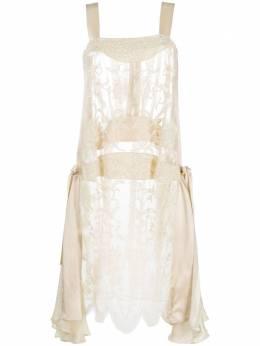 Antonio Marras платье с отделкой бусинами AM5150AVORIO