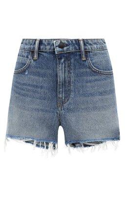Джинсовые шорты с потертостями Denim X Alexander Wang 4D994036AD