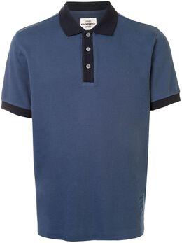 Kent & Curwen рубашка поло с контрастным воротником K4100063I039