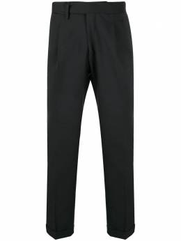 Briglia 1949 прямые брюки со складками QUARTIERS