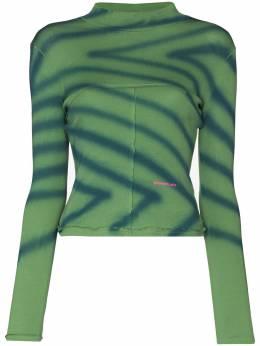Eckhaus Latta футболка Lapped Baby 305ELPF20DS