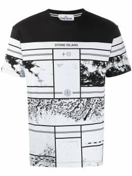 Stone Island Mural Part 3 cotton T-shirt MO73152NS86