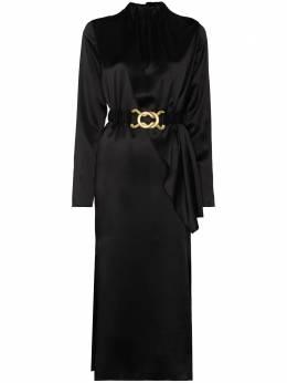 Dodo Bar Or платье миди Berna с поясом DBO1446