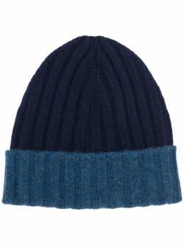 Barba ribbed knit beanie 1556213565