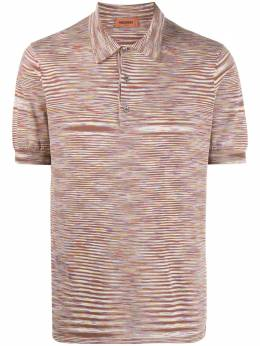 Missoni striped pattern cotton polo MUN00145BK00MA