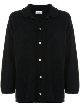 Coohem кардиган-рубашка в рубчик 30204005