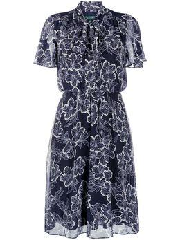 Lauren Ralph Lauren короткое платье с цветочным узором 250791998