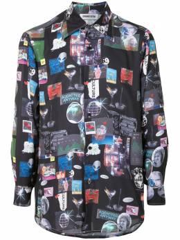 Ground Zero рубашка с принтом F20TP113