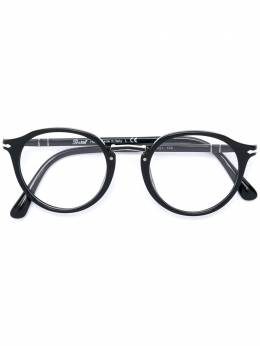 Persol очки в круглой оправе 3185V