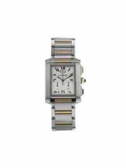 Cartier наручные часы Tank Française 29 мм 2000-го года 349594